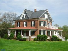 red brick farmhouse - Google Search