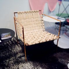 2014 Architectural Digest Home Design Show | Eric Trine — Rod+Weave chair
