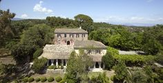 Pelecas Country Club, an old olive estate on Corfu, now is an elegant hotel with antique furniture, vast gardens, a great swimming pool & the best brunch. Greece Hotels, Corfu Greece, Find Hotels, Venetian, Antique Furniture, Swimming Pools, Cabin, Mansions, Country