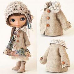 Mori style outfit! Bonecos e bonecas