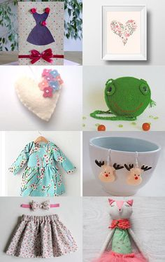 Little girl by SARADECORA on Etsy--Pinned+with+TreasuryPin.com