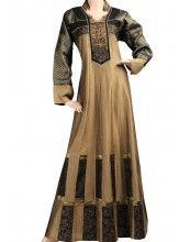 """Ori-Anna"" Cotton jalabiya with hand embroidery (N-13946-20)"
