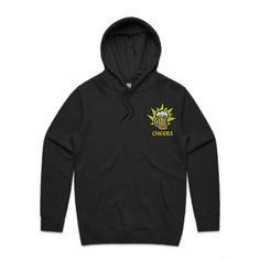Cheers Beer Double-Sided Embroidery Coal Hoodie Team AS Colour Stencil 5102 Front - Beer Hoodies,Funny Drinking Hoodies,Alcohol Hoodies,Alcohol Clothing,Funny Drinking Quotes,Funny Drinking Memes,Embroidery Hoodies,Typographic Hoodies,Graphic Hoodies,Alco Tops,Drunk,Here For Beer,Pilsner,Bier,Cerveza,Piwo,Miller,Fosters,Budweiser,Bud Light,Guinnes,Irish Pub,Pub Crawl,Cheers,Skål,Prost,Proost,Tchin,Santé,Cin Cin,Salute,Na Zdrowie,Tim-Tim,Fire In The Hole,Shirts,Sweatshirts Hoodies, Sweatshirts, Graphic Design Art, Big, Cheer, Sweaters, Embroidery, Collection, Black