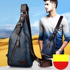 Frugal Casual Men Oxford Chest Pack Usb Charging Backbag Outdoor Sport Functional Travel Organizer Male Sling Message Bag Black White Engagement & Wedding