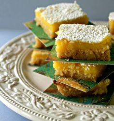 Cookie-Crust Lemon Bars