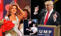 Former Miss Universe becomes U.S. citizen to vote against Trump