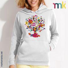 Sudadera con capucha 'Submarino musical'. 50% algodón y 50% poliéster. Bolsillo canguro #shirts #moda #healthy #markamania #jackets #StreetFashion #lifeStyle #culture #Barcelona #Spain #Happy #Mind #Life #living #Healthy #Sports #fitness #skateboarding #Love #Camisetas #Soul #Wear #Street #behappy #Sudaderas #hoodie #sweatshirt #Music #skateboarding #HipHop #UrbanFashion #Smile #SportWear #SportFashion #sudaderas