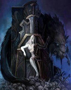 Goddess's Whole – Norse Mythology-Vikings-Tattoo Hel Goddess, Goddess Of The Underworld, Death God, Pagan Gods, Viking Warrior, Viking Art, Goddess Tattoo, Viking Tattoos, Norse Mythology