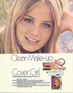 Cybill Shepherd for Cover Girl Clean Make-up 1971