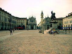 Piazza San Carlo,Torino,Italy