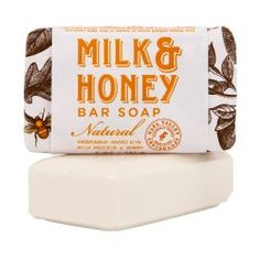 Olivina Milk & Honey Bar Soap #WhimsicalUmbrella #HomeDecor #Gift whimsicalumbrella.com