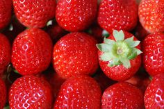 Strawberries! - Thumbs up for the one who dares to be different