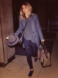 Elizabeth Olsen traveling