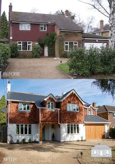 transform your family home! Extending, remodelling and careful attention to exterior materials. Character and charm have been created to this once soulless looking property. An amazing transformation! By Back to Front Exterior Design