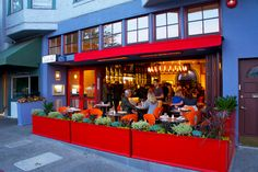 Joanne Weir's restaurant - Copita -Sausalito    http://www.copitarestaurant.com/