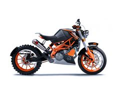 "KTM Duke ""Chopfighter""? ""Bobbler""? ""Scram-Fighter""?"