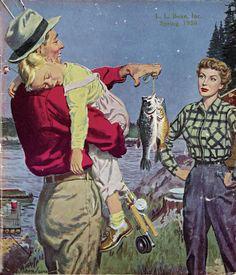 L.L. Bean Spring 1956 Catalogue Cover