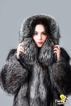 Noomi Rapace in fox fur coat by Tweety63