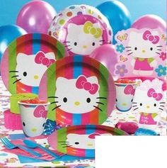 Hello Kitty Birthday Party Supply Set for 12 » Pink Hello Kitty » Shop Hello Kitty — All your Hello Kitty Products Here!