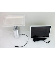 MAXSA Innovations MXS-40227 Solar Powered Aluminum 80 LED Motion Lig