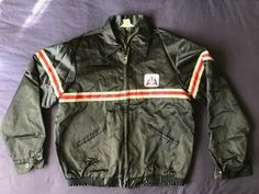 1fa8ae8d6ee2a Men's vintage Topps American Airlines ground crew worker jacket hi-vis size  44 #fashion