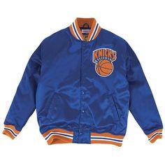 c155ee9c0 Mitchell  amp  Ness Men s New York Knicks Satin Jacket ( 120) ❤ liked on