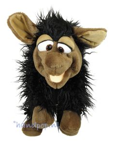 Joshi het zwarte schaap. 46 cm dierpop Living Puppets