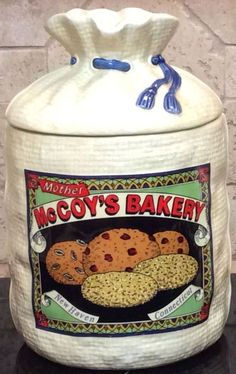 Mother McCoy's Bakery, New Haven, Connecticut - Cookie Jar