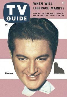 TV Guide, September 18, 1954 - Liberace