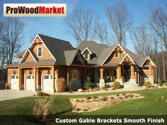 Custom Gable Bracket D40 And Wooden Corbel 20t2 Products: kitchen remodeling valparaiso indiana