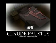 """Pulled from the new OVA """"The Making of Kuroshitsuji II"""" And yes, that is indeed Claude Faustus Claude Faustus Demotivational Black Butler Funny, Black Butler Anime, Nickelodeon Cartoons, Sebaciel, Black Butler Kuroshitsuji, Earth Signs, My Favorite Image, Beauty Care, Tokyo Ghoul"""