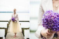Hortensien als Brautstrauß