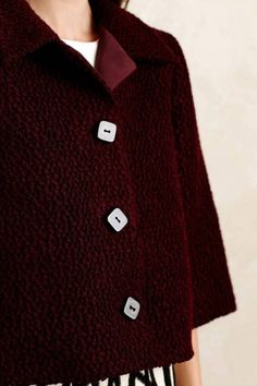 Boucle Swing Jacket by Raoul | Pinned by topista.com
