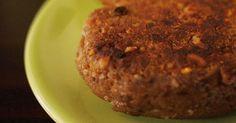 Hamburger di lenticchie-vegan