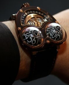 MB&F HM3 Chocolate Frog watch