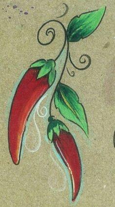 chile ristra tattoo - Google Search
