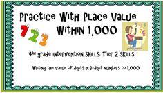 4th grade math intervention