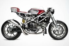 Ducati 749 Café Racer by South Garage Motorcycles