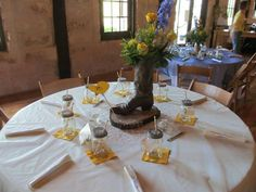 Pecan Springs wedding table idea