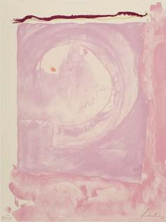 Reflections IX. 1995 - Helen Frankenthaler - WikiArt.org