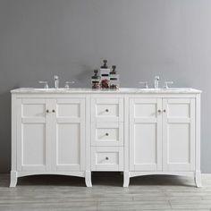 """Arezzo 72"""" Double Bathroom Vanity"""