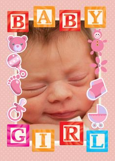 Do you know someone who welcomed a new baby girl into the world recently? Send them this cute Baby Girl Card by clicking on the picture above, adding your own snapshots of the new little bundle of joy, changing the text inside, and hitting send. The parents and grandparents will appreciate your thoughtfulness in making this event even more special. They will be so happy that you thought of them and they will treasure your gift forever! This is a real card (not an e-card) shared from…