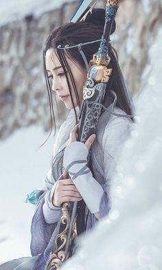 Geisha Tattoos, Fantasy Girl, Arte Ninja, Poses References, Samurai Art, Female Samurai Tattoo, Warrior Girl, China Girl, Chinese Clothing