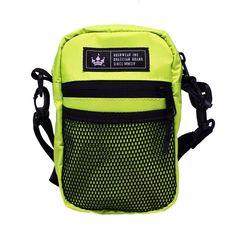 Shoulder Bag Média Hoshwear Amarelo Neon