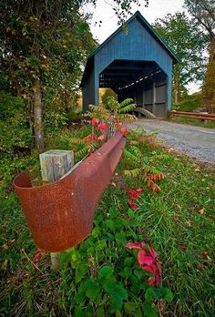 Covered Bridge By Bertie