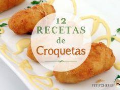 12 recetas de croquetas