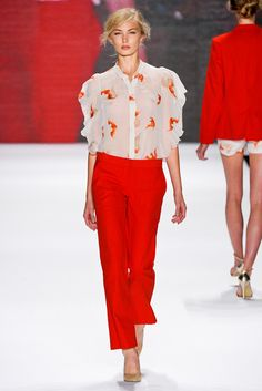 Vivienne Tam Spring 2012 Ready-to-Wear - Collection - Gallery - Look 1 - Style.com