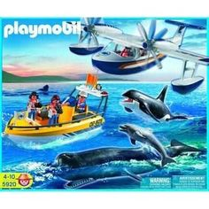 Playmobil 5920 Whale Watching by Playmobil. $139.00. With big whale, orca and dolphin.
