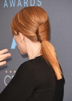 Bryce Dallas Howard's hair at the Critics' Choice Awards