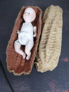 "Antique Vintage PAPER MACHE Puppet SAILOR MAN Handmade Toy Doll FOLK ART 28"" Marionetten & Handpuppen"